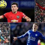 Premier league 5 ผู้เล่นที่ทำคะแนนมากสุดก่อน Lockdown